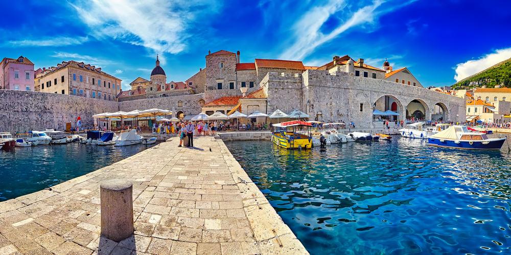 Panorama - Dubrovnik i Kroatien