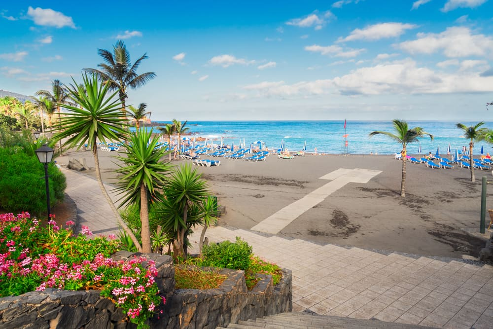 Playa Jardin - Tenerife i Spanien