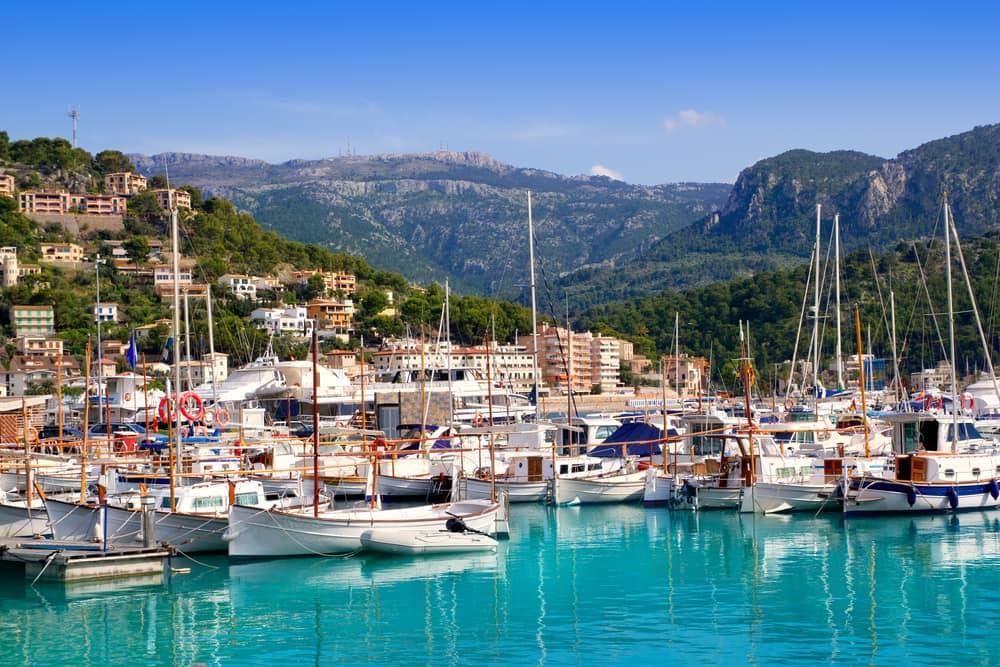 Port de Soller - Mallorca i Spanien