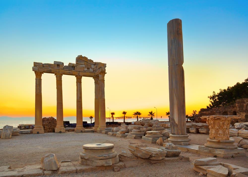 Ruiner i Side - Tyrkiet