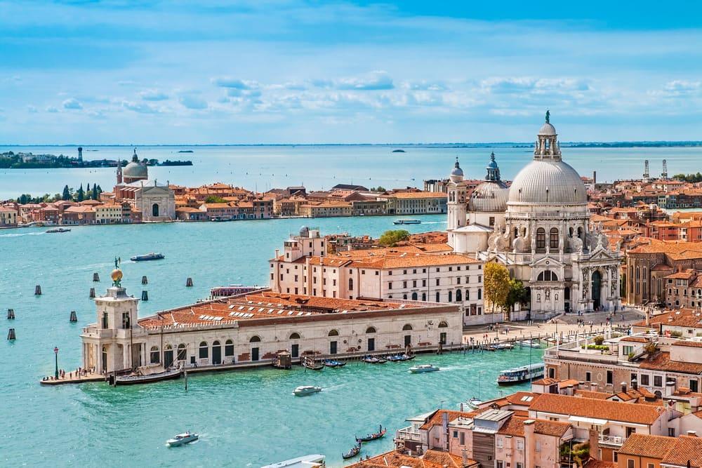 Venedig: Veneto-regionen i Italien