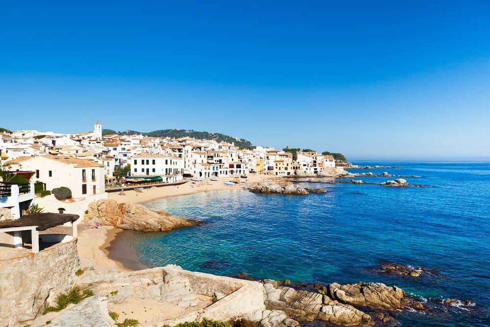Calella de Palafrugell - Costa Brava i Spanien