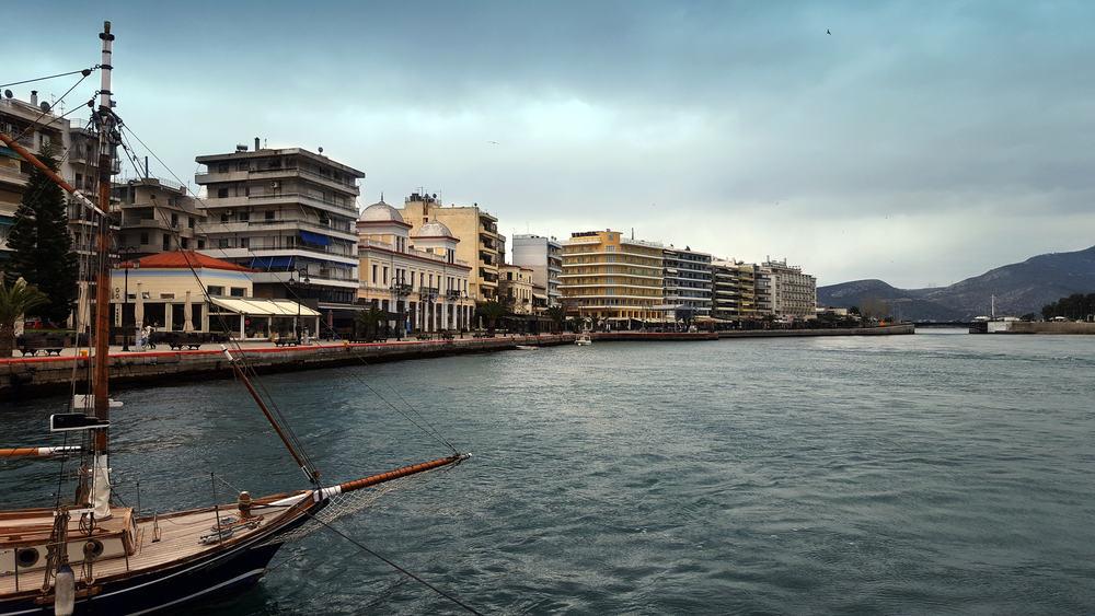Chalkida - Evia i Grækenland