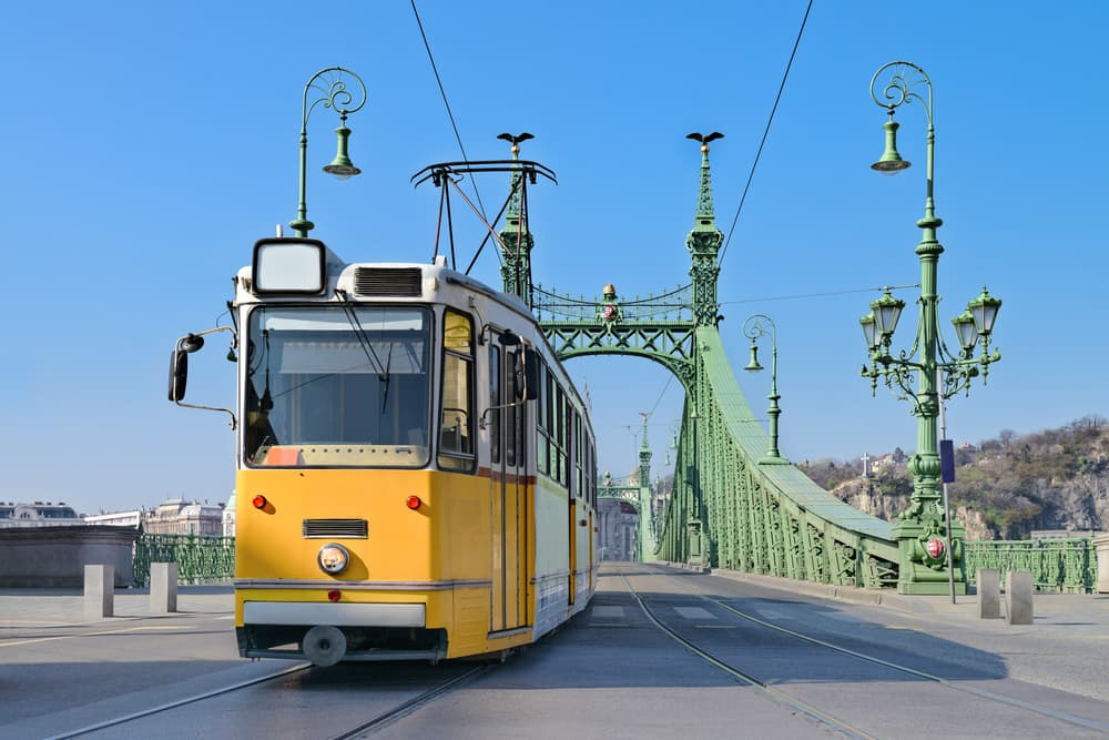 Charmerende sporvogn - Budapest i Ungarn