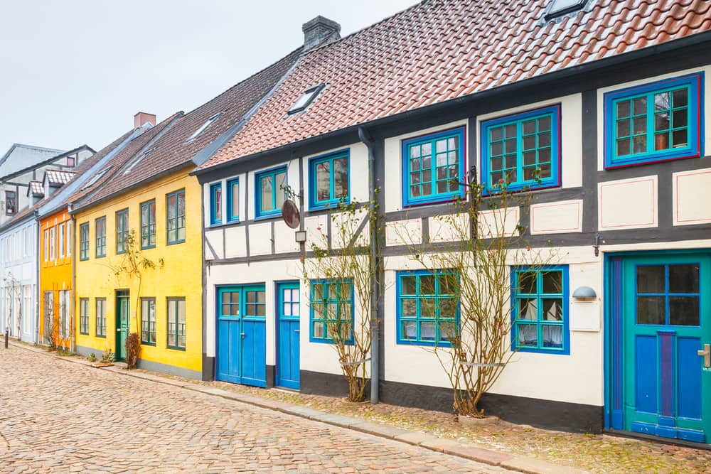 Flensborg i Tyskland