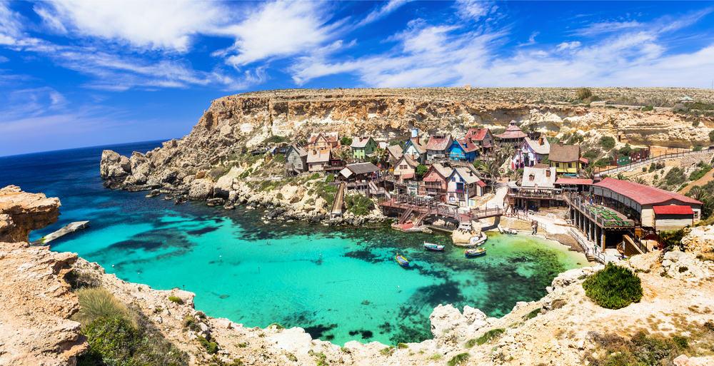 Popeye Village på Malta