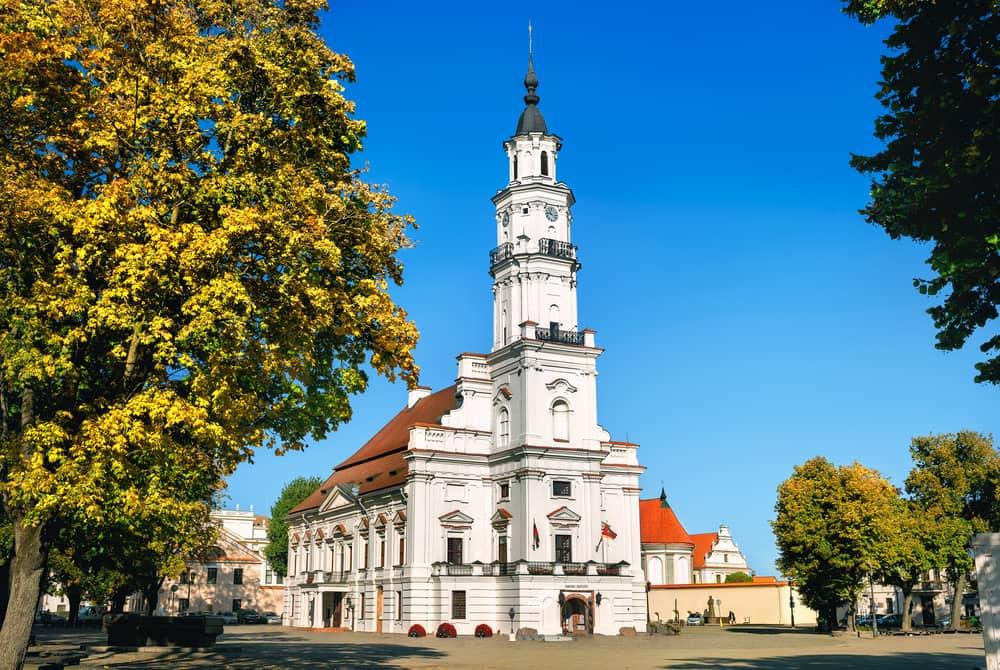 Rådhuset i Kaunas - Litauen