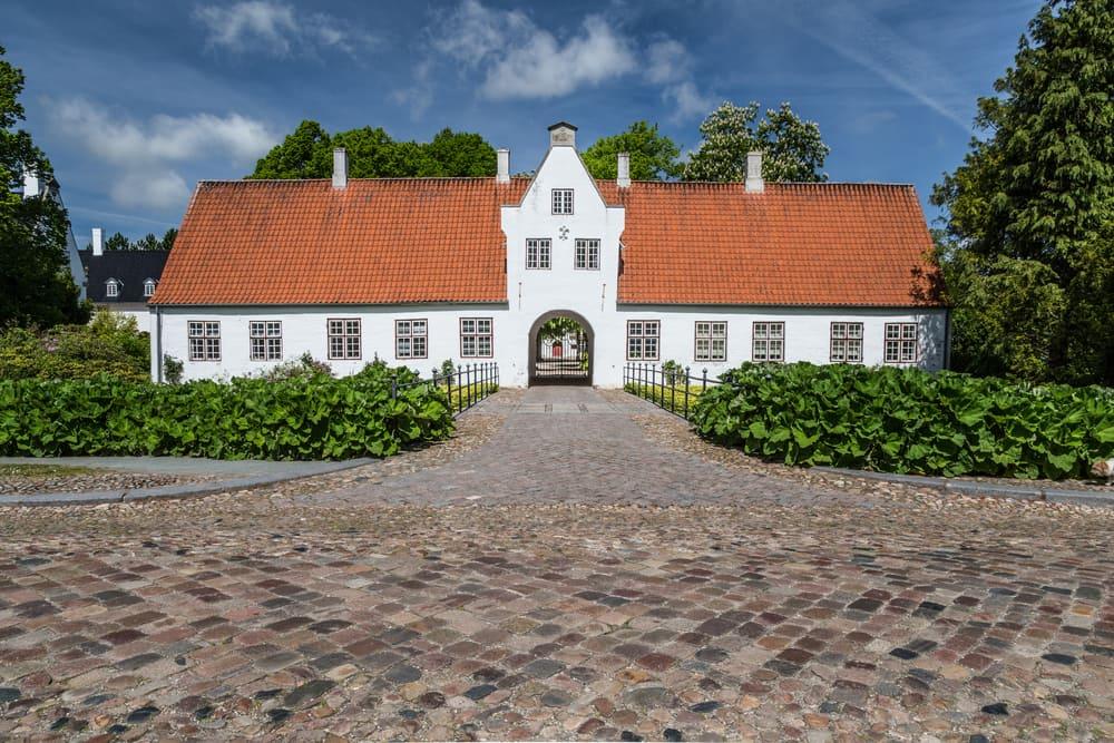 Schackenborg Slot i Møgeltønder