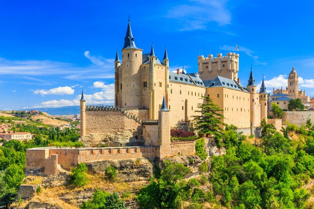 Segovia i Spanien