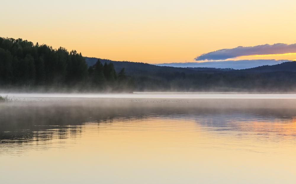 Søen Fryken - Värmland i Sverige