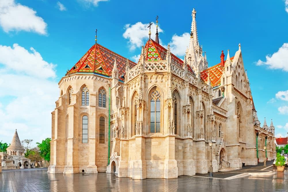 St. Matthias kirken - Budapest i Ungarn