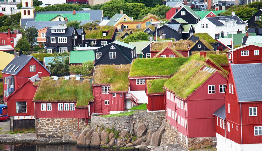 Torshavn på Færøerne
