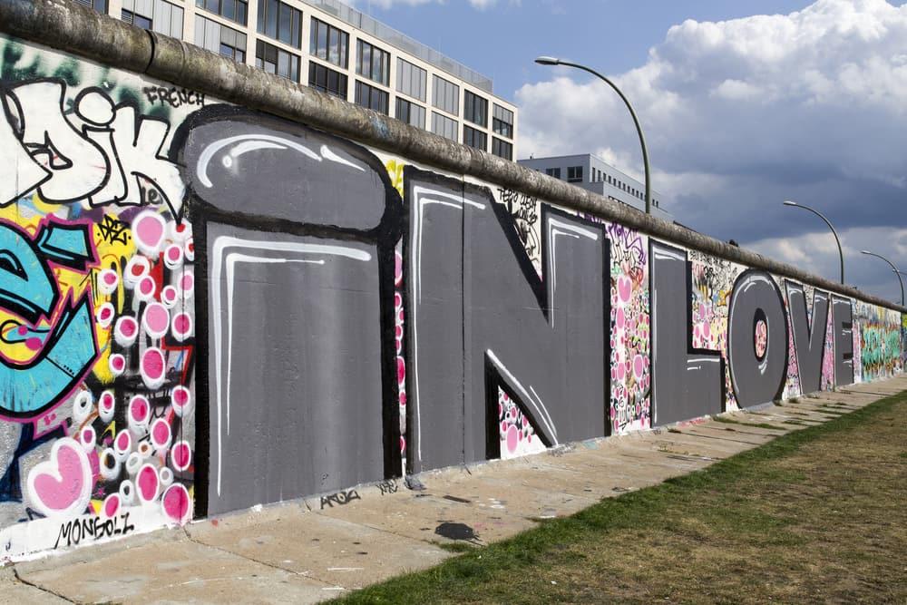 Berlinmuren - Berlin i Tyskland