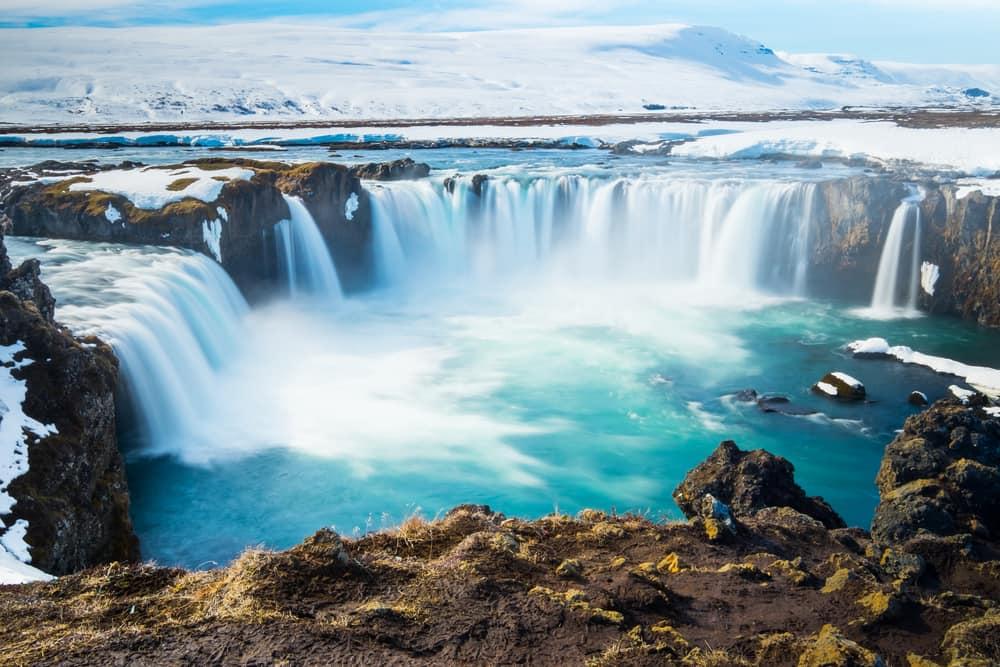 Goddafoss på Island