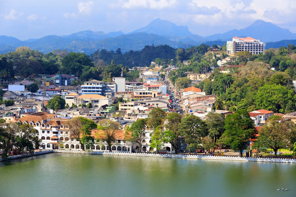 Kandy på Sri Lanka