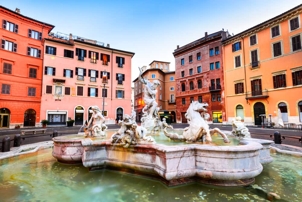 Piazza Navona - Rom i Italien