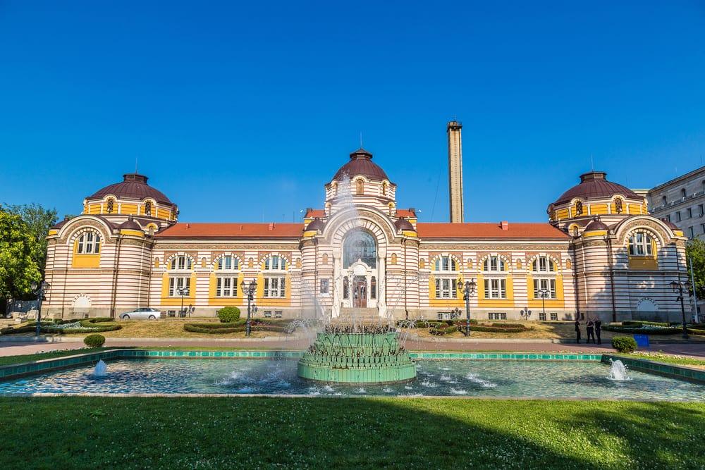 Sofia i Bulgarien