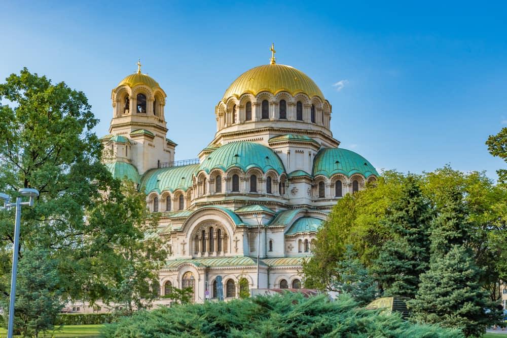 St. Alexander Nevsky katedralen - Sofia i Bulgarien