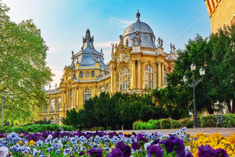 Vajdahunyad slottet - Budapest i Ungarn