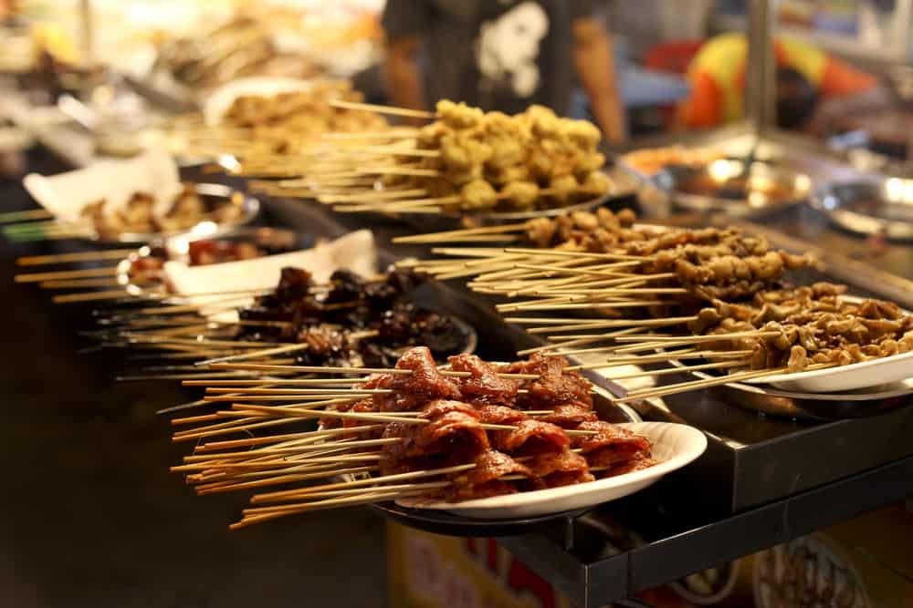 Street food i Kuala Lumpur