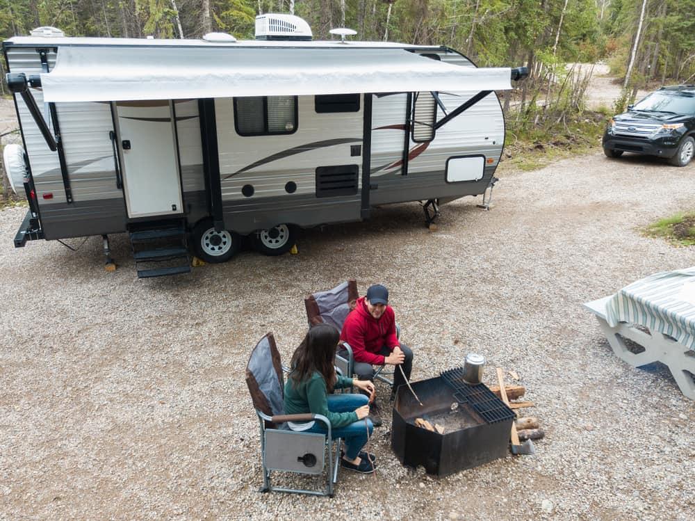 Servicetjek af campingvognen