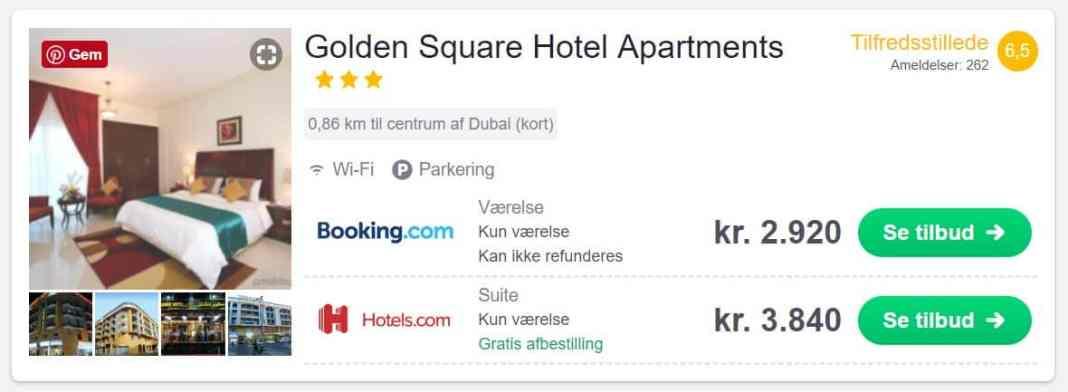 Golden Square Hotel Apartments - Dubai