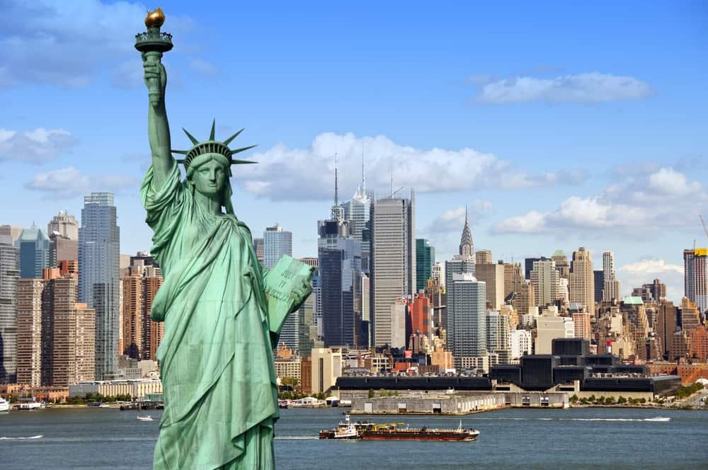 Storbyferie i New York (frihedsgudinden)