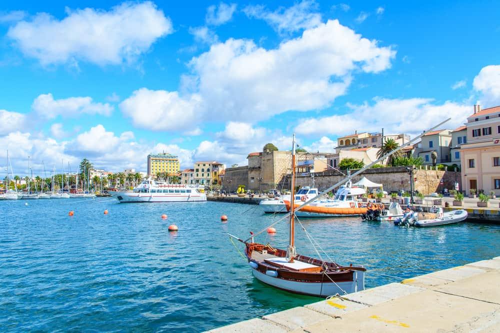 Alghero på Sardinien