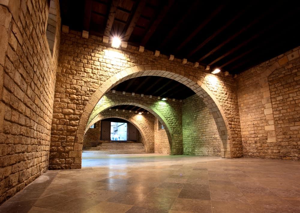 Indgang til Picasso-museet i Barcelona