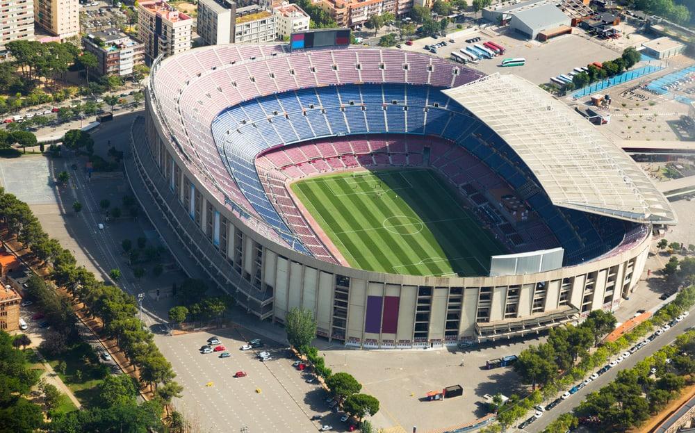 Camp Nou - Barcelona i Spanien