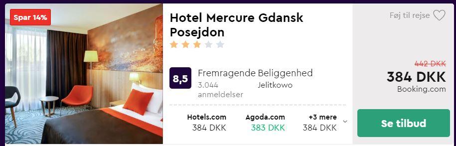 Hotel Mercure Gdansk Posejdon - Hotel i Polen