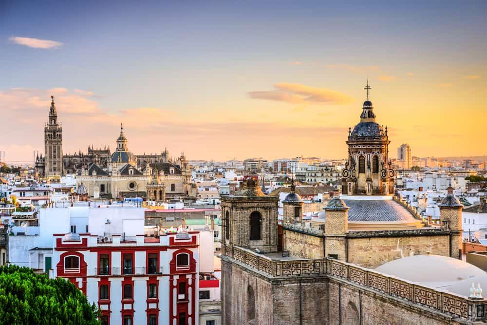 Sevilla skyline - Spanien