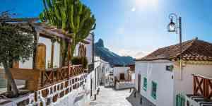 Tejeda i Gran Canaria - Spanien