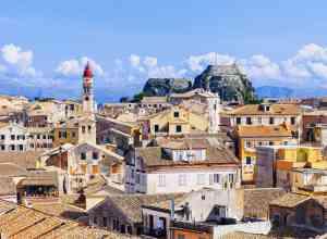Korfu by i Grækenland