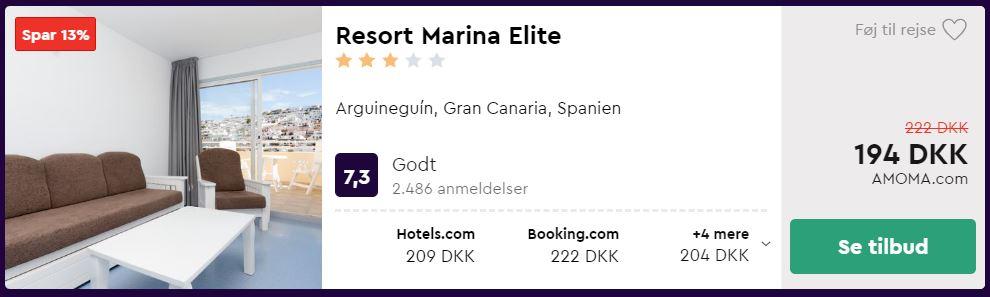 Resort Marina Elite - Gran Canaria i Spanien