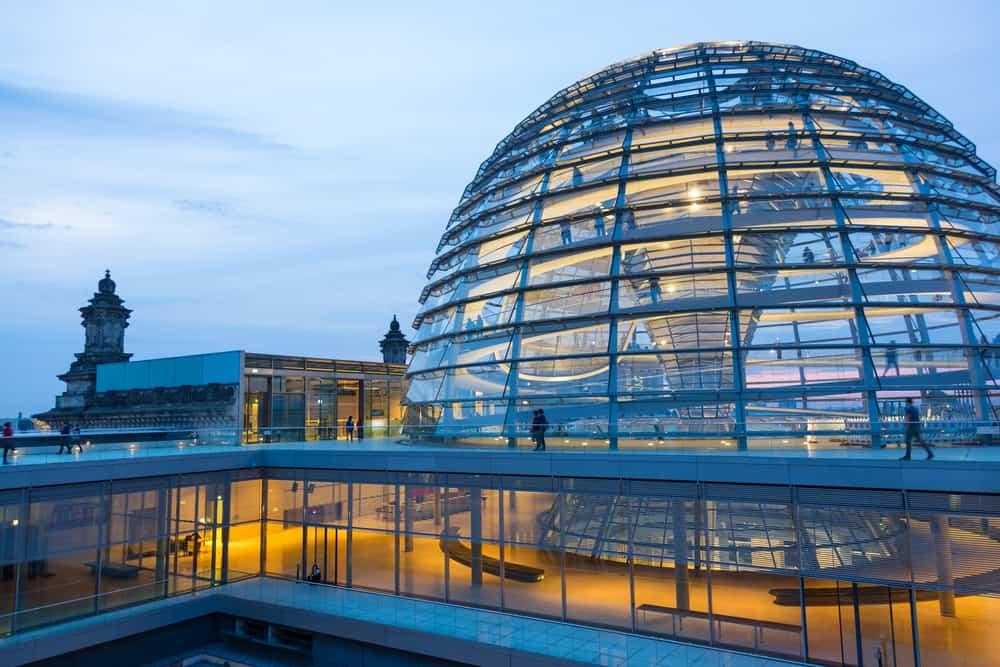 Rigsdagsbygningen i Berlin
