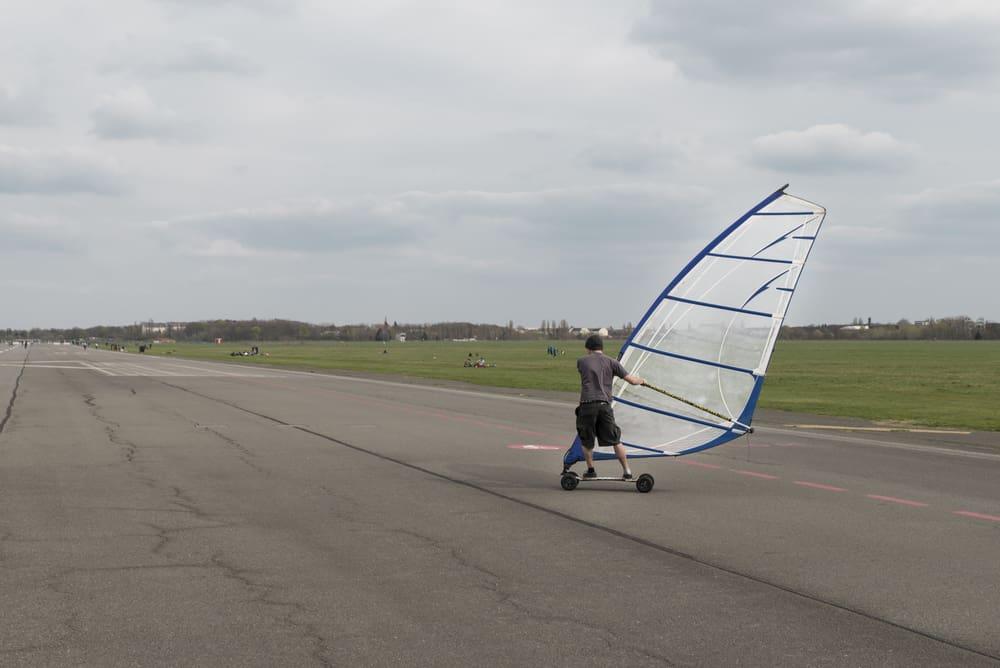 Windskating i Tempelhof - Berlin