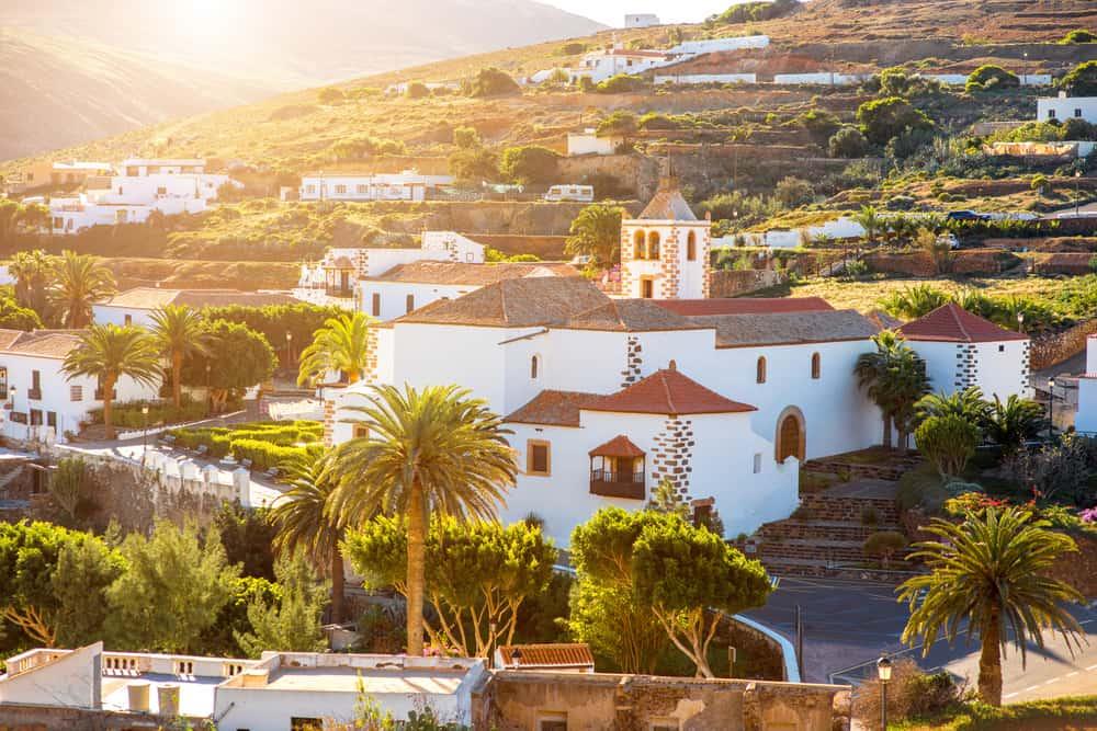 Betancuria i Fuerteventura - Spanien