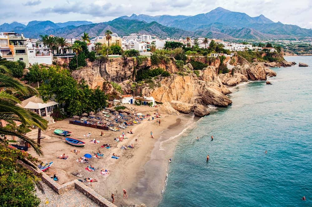 Costa del Sol i Spanien