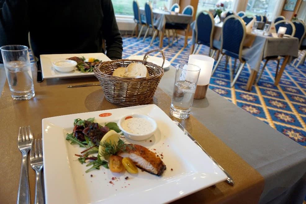 Restauranten på Hotel Marina