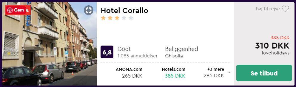 Hotel Carolla - Milano i Italien
