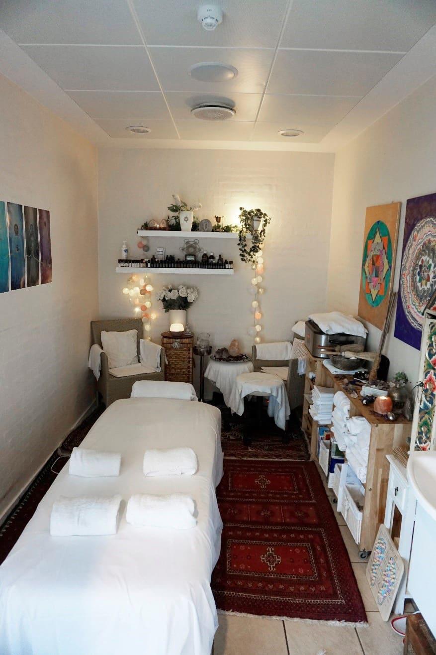 Terapi/massage på Hotel Marina