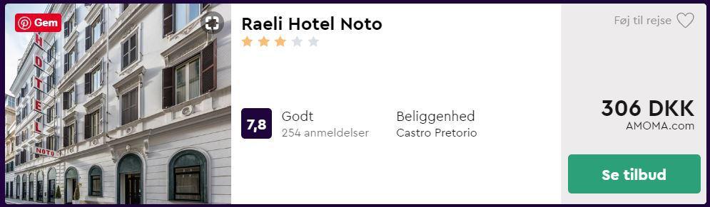 Raeli Hotel - Rom i Italien