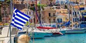 Havn på Kos - Grækenland