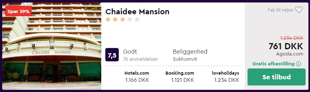 Hotel i Bangkok