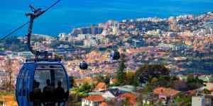 Kabelbane i Funchal - Madeira i Portugal