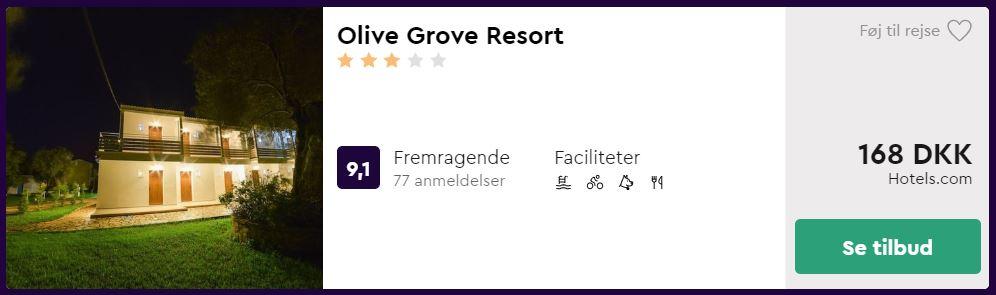 Olive Grove Resort - Korfu i Grækenland