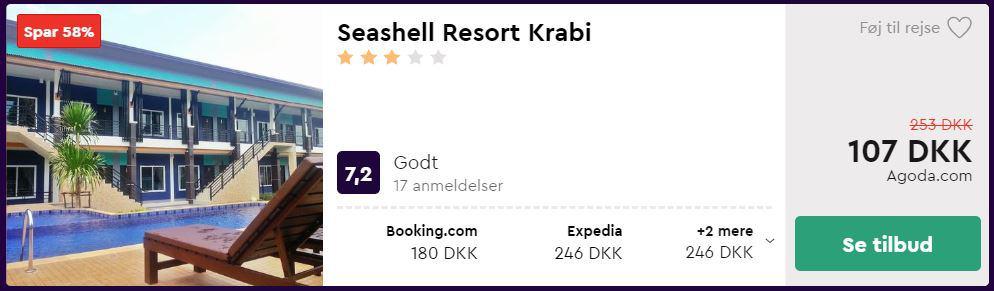 Seashell Resort Krabi - Thailand