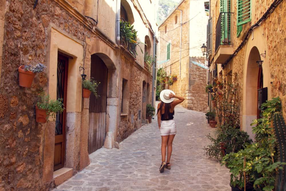 Valldemossa- Mallorca i Spanien
