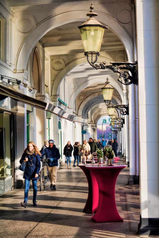 Shopping i Hamborg - Tyskland